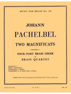 Pachelbel: Two Magnificats