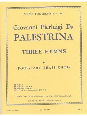 Giovanni Pierluigi da Palestrina: 3 Hymns