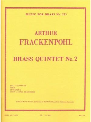 Arthur R. Frackenpohl: Arthur R. Frackenpohl: Quintet No.2
