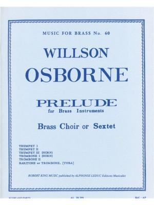 Osborne: Prelude