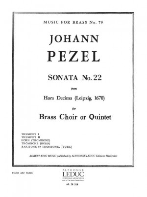 Pezel: Sonata N022-Hora Decima