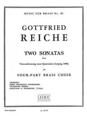 Reiche: 2 Sonatas-N021 And N022