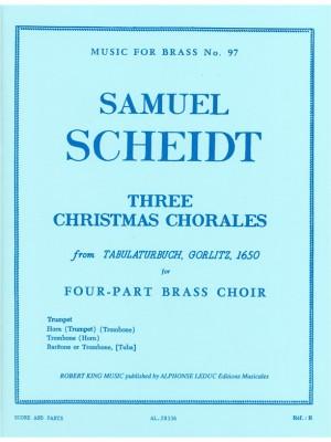 Scheidt: 3 Christmas Chorales