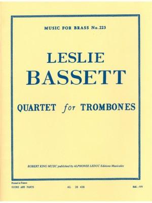 Leslie Bassett: Leslie Bassett: Quartet