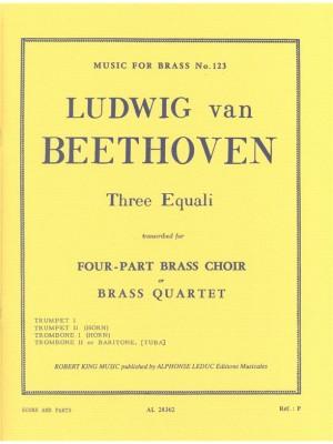 Ludwig van Beethoven: 3 Equali