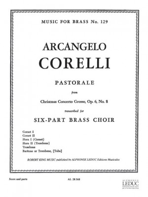 Corelli: Pastorale From Cto Grosso Op6