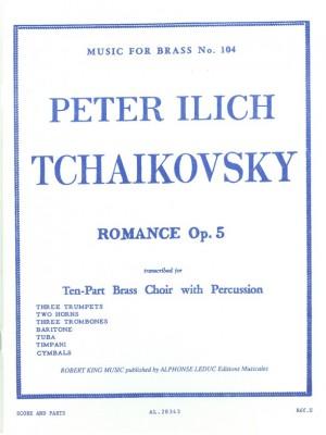 Pyotr Ilyich Tchaikovsky: Romance In F Minor Op.5