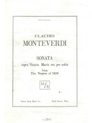 Claudio Monteverdi: Sonata Sopra Sancta Maria