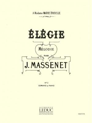Jules Massenet: Elegie N02