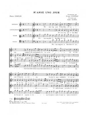 Pierre Certon: Chansons polyphoniques Vol.3a, 2