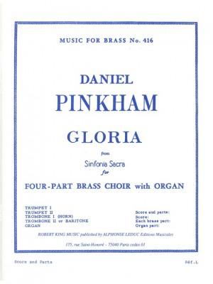 Pinkham: Gloria From Sinfonia Sacra