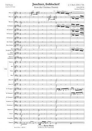 Johann Sebastian Bach: Jauchzet, frohlocket!