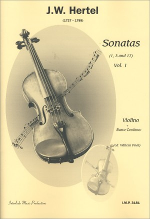 J.C. Hertel: Sonaten 1 (1-3-17) Product Image