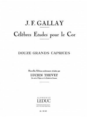 Jacques-François Gallay: 12 Grands Caprices Opus 32