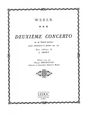 Carl Maria von Weber: Concerto N02 Mib Majeur Op74