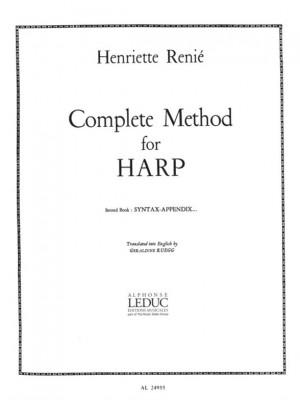 Henriette Renié: Renie Henriette Methode de Harpe v. 2 Harp English