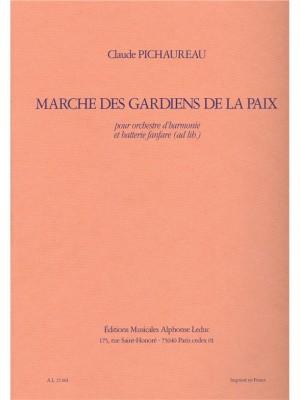 Claude Pichaureau: Marche Des Gardiens de La Paix
