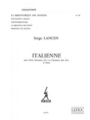Serge Lancen: Italienne