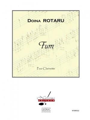 Doïna Rotaru: Rotaru Fum Clarinet In Bb Solo