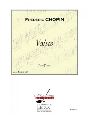 Frédéric Chopin: Chopin Valses Volume 3 Piano