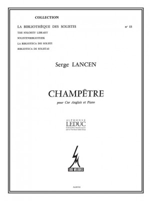 Serge Lancen: Champetre