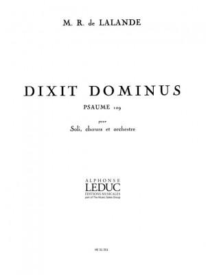 Michel-Richard Delalande: Dixit Dominus Psaume 109