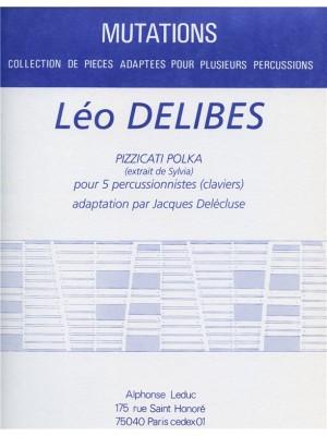 Léo Delibes: Pizzicati Polka Extrait Sylvia 5 Percussionists