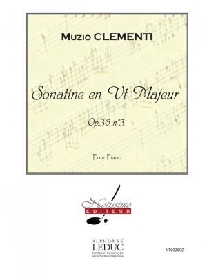 M. Clementi: Sonatine En Ut Majeur Op36 N03