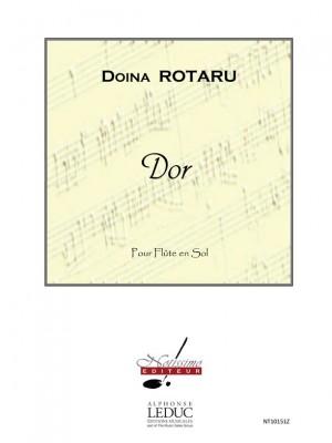 Doïna Rotaru: Rotaru Dor Flute Solo