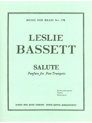 Leslie Bassett: Basset Salute Mfb170 5 Trumpets