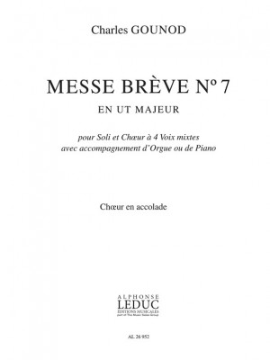 Charles Gounod: Messe Brève No.7