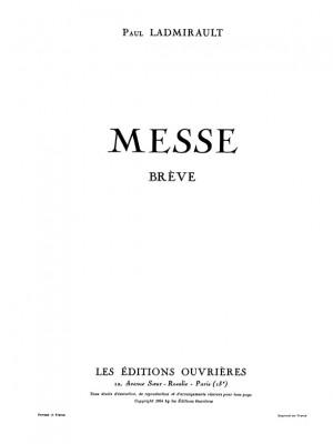 Paul Ladmirault: Messe Breve
