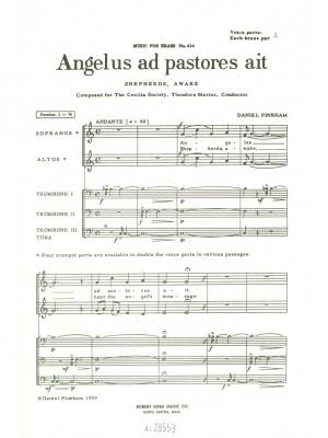 Pinkham: Angelus Ad Pastores Ait