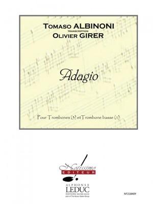 Brass » Trombone, Albinoni (composer) (page 1 of 1)   Presto
