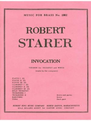 Robert Starer: Invocation