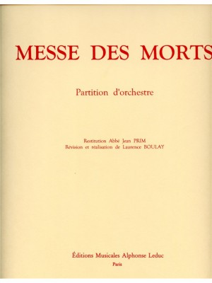 Gilles: Messe Des Morts -Requiem