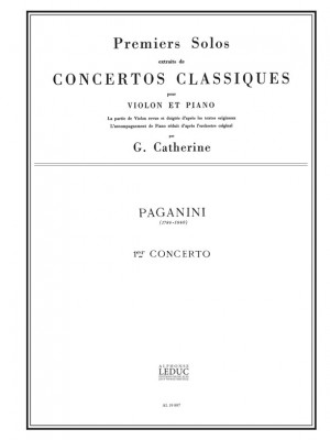 Niccolò Paganini: Premier Solo Extrait concerto No.1