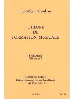 Jean-Pierre Couleau: L'heure de formation musicale - Débutant 2 Theorie
