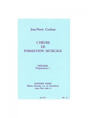 Jean-Pierre Couleau: L'heure de formation musicale - Prép. 1 Théorie