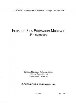 Serge Lecussant: Fiches Pedagogiques Moniteur No.3 Le Complet