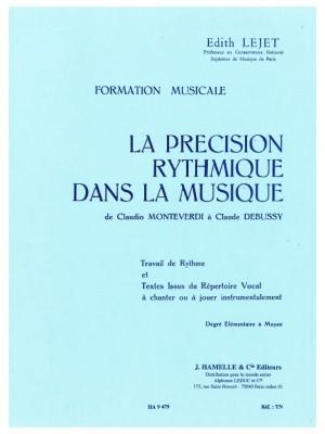 Edith Lejet: Precision Rythmique Dans La Musique De Monteverdi