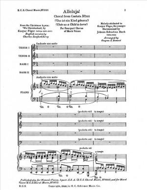 Johann Sebastian Bach: Uns ist ein Kind geboren