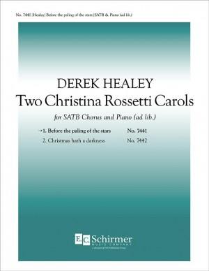 Derek Healey: Two Christina Rossetti Carols Product Image