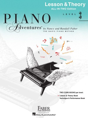Nancy Faber_Randall Faber: Faber Piano Adventures: Level 3 - Lesson & Theory