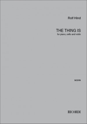 Rolf Hind: The thing is