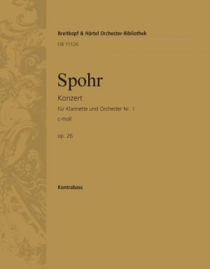 Spohr, Louis: Klarinettenkonzert Nr 1 c-moll op. 26