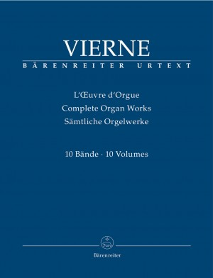Vierne, Louis: Complete Organ Works (10 volumes) Product Image