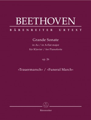 "Beethoven, Ludwig van: Grande Sonate for Pianoforte in A-flat major op. 26 ""Funeral March"""