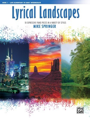 Mike Springer: Lyrical Landscapes, Book 1