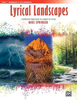 Mike Springer: Lyrical Landscapes, Book 3